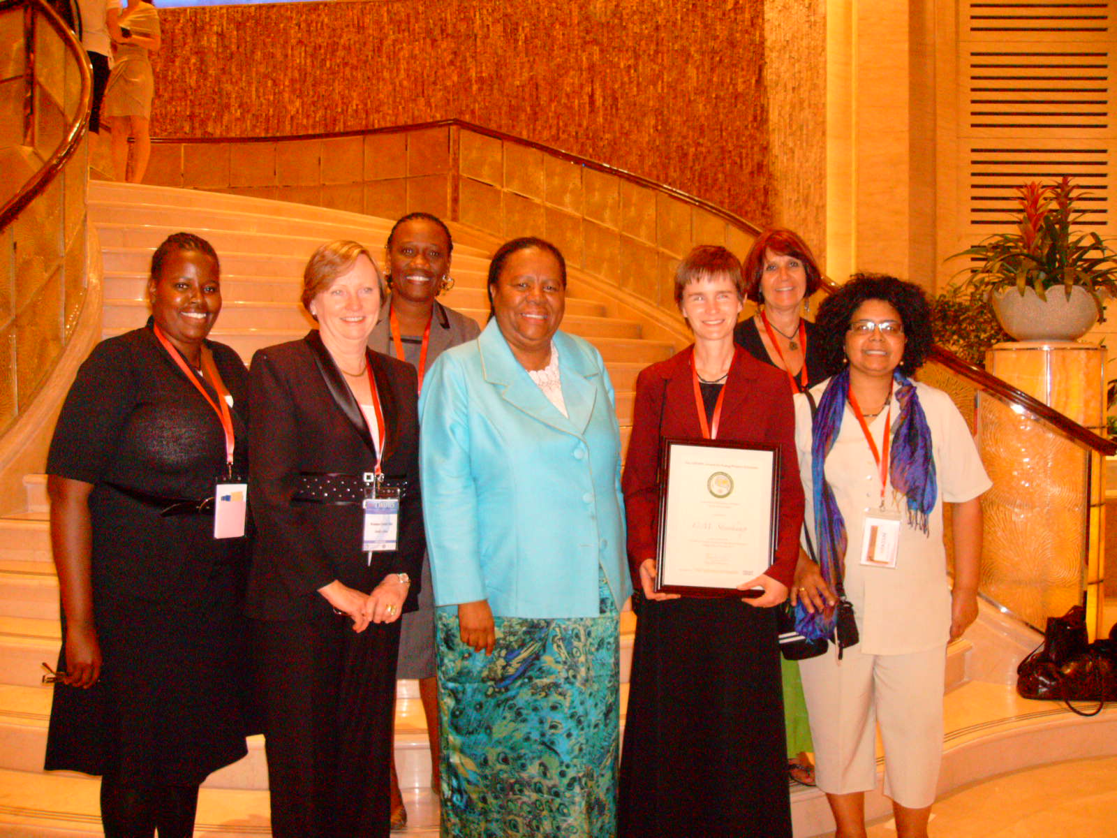 OWSD Beijing Conference 2010 with Minister Pandor and SA delegation