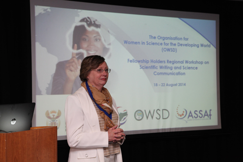 OWSD Fellowship Regional Workshop 9
