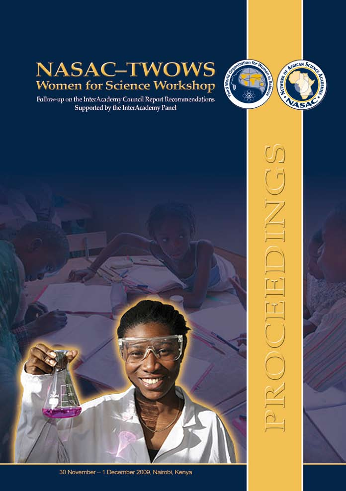 NASAC-TWOWS Women for Science Workshop Report